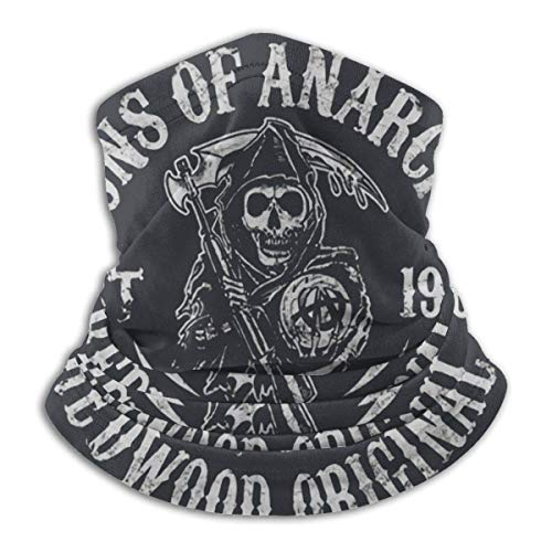 ASKSWF Sons of Anarchy Grim Reaper Mans Scarf