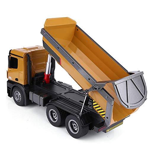 RC Auto kaufen Baufahrzeug Bild 6: Dilwe RC Muldenkipper, HUINA 1573 1/14 Skala 2,4 GHz RCDumping Truck Auto Fernbedienung Engineering Fahrzeug Spielzeug Geschenk für Kinder*