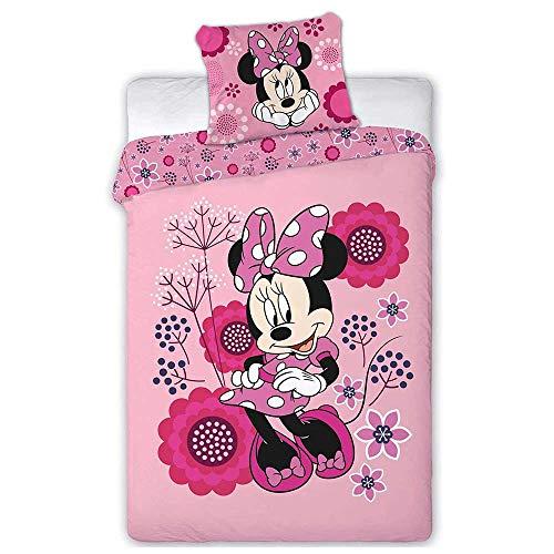 AYMAX S.P.R.L Minnie Disney - Juego de cama individual