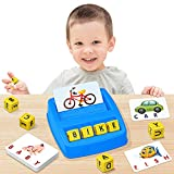 NARRIO Educational Toys for 3 4 5 Year Old Boys Gift, Matching Letter Game Preschool Learning Toys for Kids Ages 4-8 Years, Birthday Gifts for 3-6 Year Old Boys Toddler Toys Age 2-4
