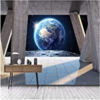 Xbwy 装飾壁画の壁紙ローマの列地球サンシャイン風景背景壁絵画リビングルーム-280X200Cm