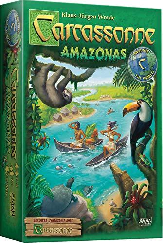 Carcassonne : Amazonas - Asmodee - Jeu de société - Jeu de...