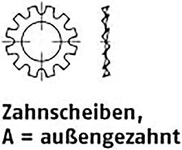 Tandschijven DIN 6797 veerstaal A 5,3 VE=K 500 stuks