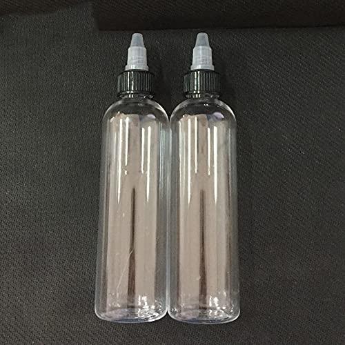 DIOXQEN Flasche drücken, 10 stücke 120ml Twist Off Caps Stiftform Einhorn Flasche Leere PET-Flaschen E Flüssige Kunststoff-Tropfflaschen für Ketchup Saucen (Specifications : 120ml)