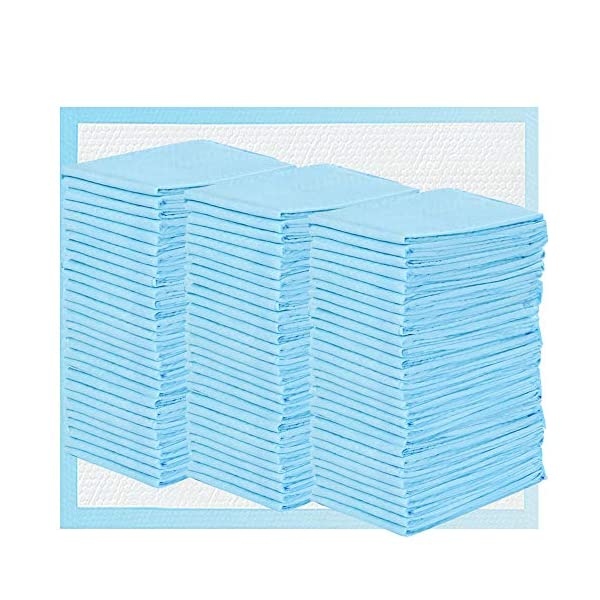 Disposable Changing Pads 3×50 Pack Baby Bed Pads Waterproof Super Soft, Ultra...