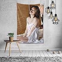 タペストリー 壁掛け 杉本有美(すぎもと ゆみ、Sugimoto Yumi) 壁飾り 家 リビングルーム ベッドルーム 部屋 飾り 装飾布 ホームデコレーション 多機能人気 おしゃれ飾り152X102cm