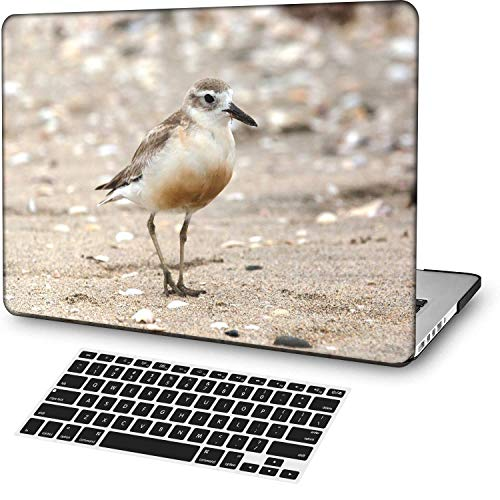 MingCaiFS Laptop Case for MacBook Air 13' Retina (Touch ID),Plastic Pattern Ultra Slim Light Hard case Keyboard Cover (Model:A2179) Animal B 0849