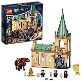 LEGO Harry Potter Hogwarts: Incontro con Fuffi, Castello Giocattolo con Cane a Tre Teste e Minifigure d'Oro del 20° Anniversario, 76387