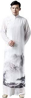 ZooBoo Tai Chi Uniform Robe - Chinese Traditional Qi Gong Martial Arts Wing Chun Shaolin Kung Fu Training Cloths Apparel Clothing for Men