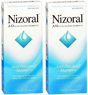 Nizoral A-D Anti-Dandruff Shampoo (7oz) (Pack of 4)