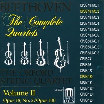 Beethoven, L.: String Quartets (Complete), Vol. 2 - Nos. 2 and 13