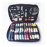 HEIFENGMUMA Soporte 90 Piezas de Estuches de Costura DIY Coser de múltiples Funciones Box Set for acolchar de la Mano y Bordados Hilo de Coser Accesorios Sistema (Color : Light Grey)