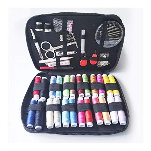 HSJWOSA Organizado 90 Piezas de Estuches de Costura DIY Coser de múltiples Funciones Box Set Compatible with acolchar de la Mano y Bordados Hilo de Coser Accesorios Ventajoso (Color : Light Grey)