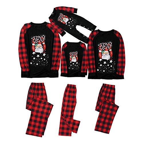 Orderking Familien Outfit Weihnachten Pyjama Vater Mutter Kind Baby Weihnachtsmann...