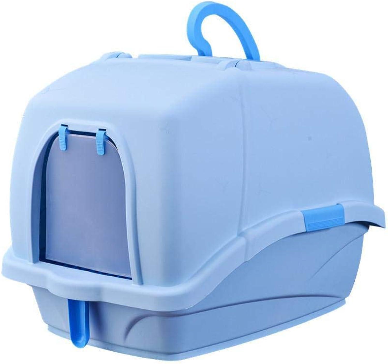 Daeo Pet WC Cat Bacino di sabbia Luxurious full closed antisplash deodorant WC padella