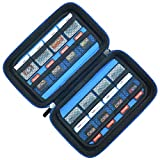Game Card Storage Holder Hard Case for New Nintendo 3DS, 2DS XL, DS and Nintendo Switch or PS Vita -...