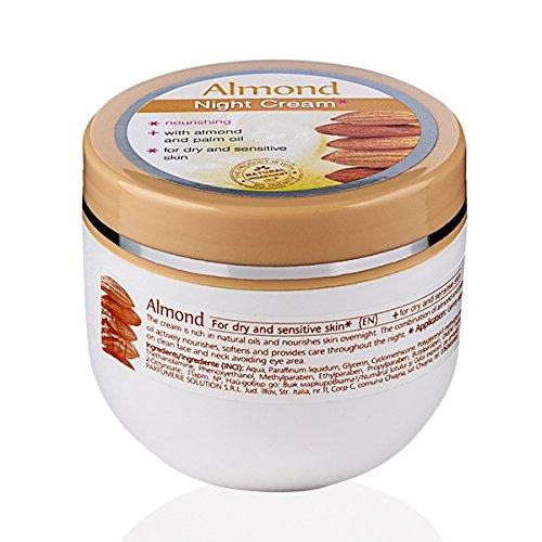 Mandel Nacht Gesichtscreme für Trockene und Empfindliche Haut 100 ml