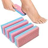 Tachibelle Spa Foot Pumice y exfoliante para pies talones callos y pieles muertas, elimina y suaviza los talones de callos ásperos (paquete de 4)