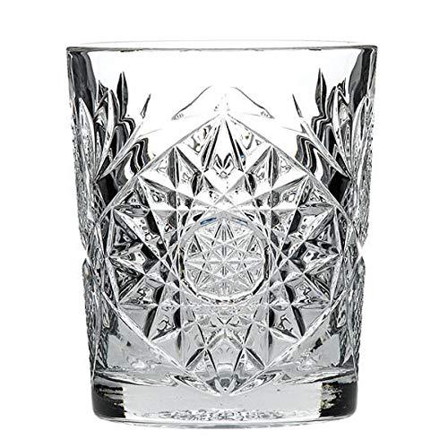 Vasos de chupito Hobstar 2 oz/60 ml - juego de 6 - Vintage de cristal tallado tirador gafas