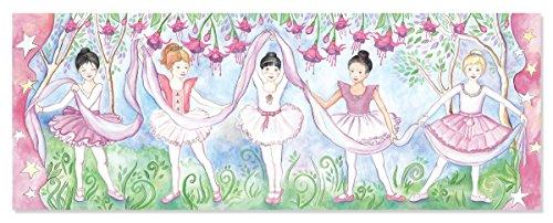 Melissa & Doug - Bella Ballerina Floor Puzzle (48pc) - Bodenpuzzle