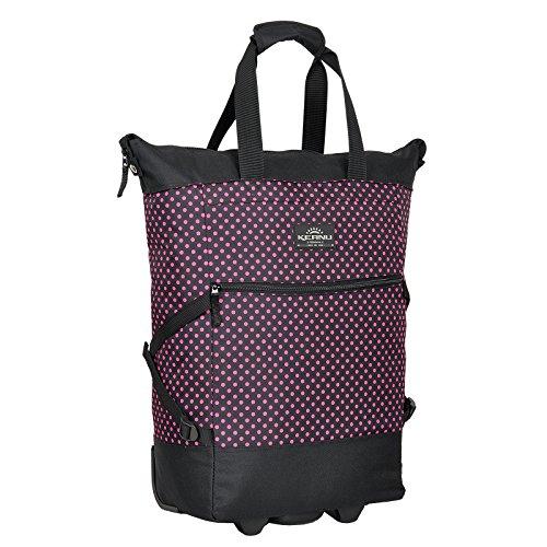 KEANU Einkaufstrolley Wheel Trolley Shopping Damentasche Einkaufsroller Korb Shopper - Trinity - FABRAUSWAHL (Pink Dots)