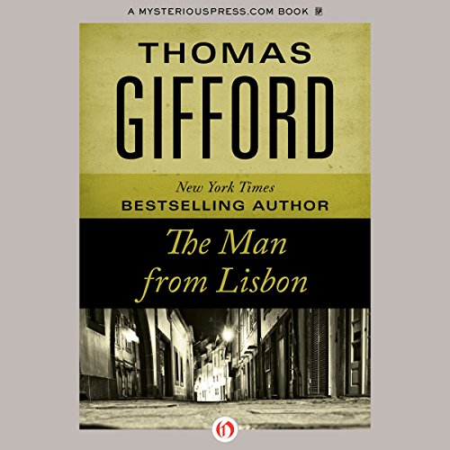 The Man from Lisbon audiobook cover art