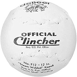 "deBeer F12 Official Clincher Softball 12"" - 1 Dozen"