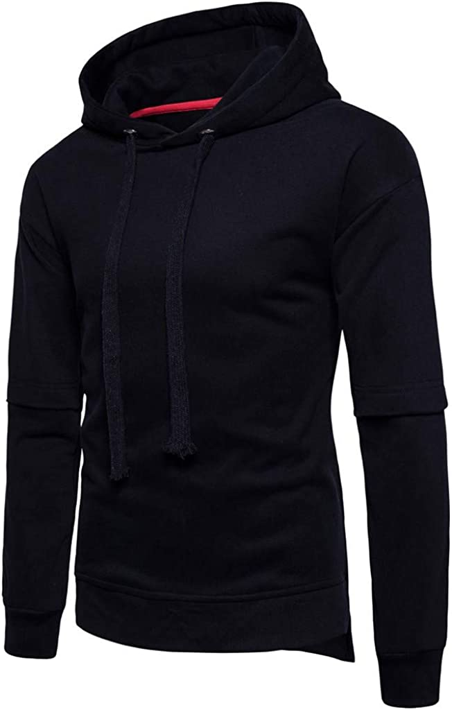 MODOQO Men's Casual Long Sleeve Soft Warm Pullover Hoodies Sweatshirt Winter Outwear