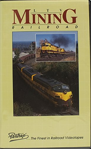 Pentrex VHS Railroad Video Tape LTV Mining Railroad