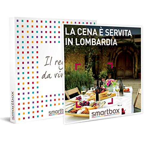 SMARTBOX - Cofanetto regalo coppia - idee regalo originale - Cena per due in Lombardia