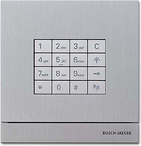 Busch-Jaeger Zutrittskontrolle außen 83100/71-660 EDS Tastatur-Modul Busch-Wächter Funktionsmodul für Türkommunikation 4011395198964