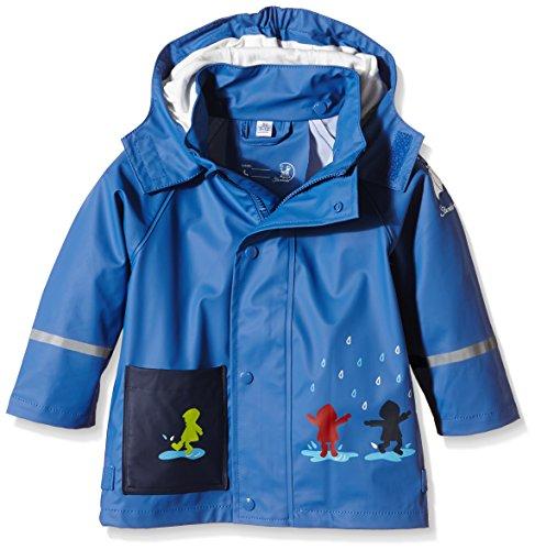 Sterntaler Baby-Jungen 5651500 Regenmantel, Blau (Kobaltblau 353), 116