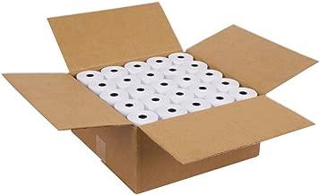 "SJPACK Thermal Paper 2 1/4"" X 85' Pos Receipt Paper, 50 Rolls Cash Register Roll, Not TOILET PAPER (50 Rolls / 1 Carton)"