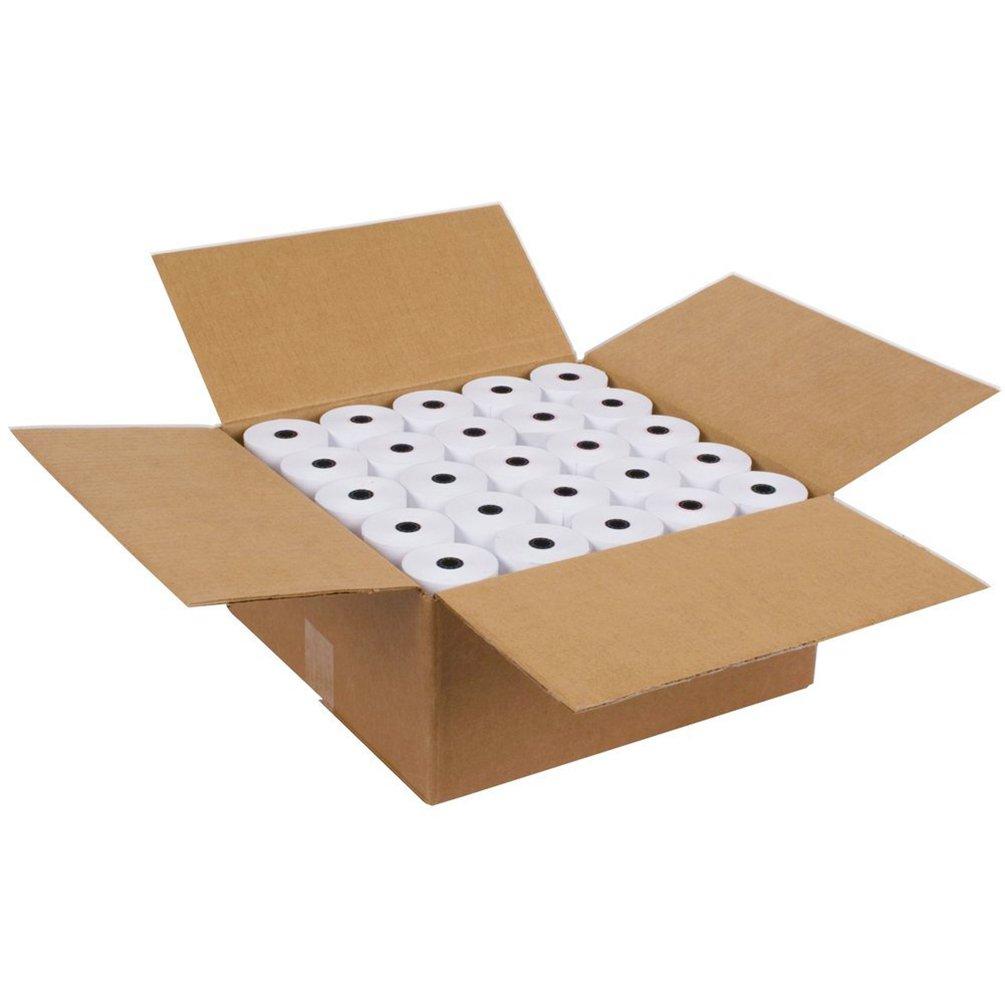 Sjpack Thermal Paper 2 1 4 X 85 Pos Receipt Paper 50 Rolls Cash Register Roll 50 Rolls 1 Carton Paper Amazon Com Au