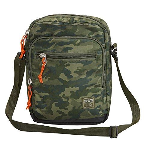 STM Link Tablet Shoulder Bag, for 8 to 10-Inch Tablets - Green Camo (stm-212-039J-36)