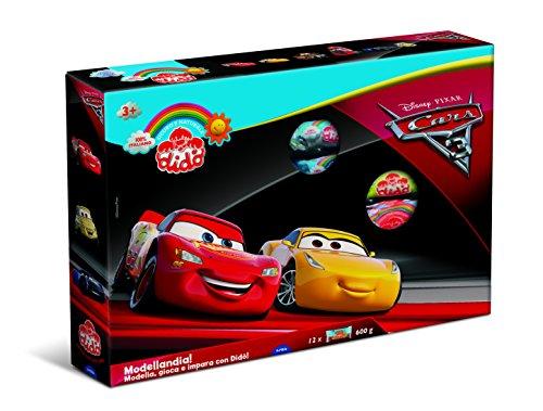 Didò- Disney Pasta da Modellare Cars 3, Colori Assortiti, 344300