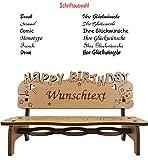 PISDEZ schönes Geburtstagsgeschenk für Frauen - für Mama - für Oma - für Männer - für Papa - für Opa - personalisiert - 6