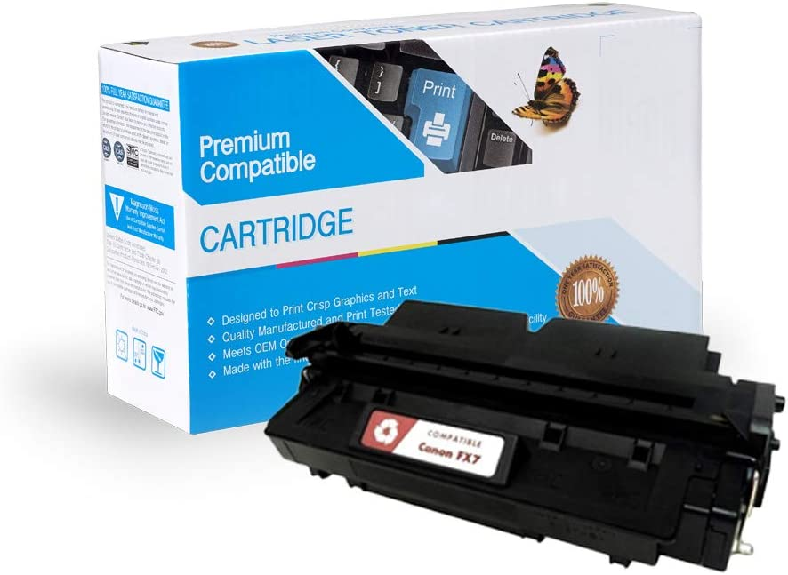 MS Imaging Supply Compatible Toner Replacement for Canon FX7, Works with: FAX L2000, L2000iP;Laser Class 710, 720i,730i (Black)