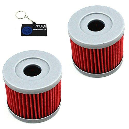 STONEDER 2 x Öl-Montagewerkzeug für Suzuki DR125SM AN400 UX150 UH125 UH200 GZ125 LTZ90 Loncin CB250