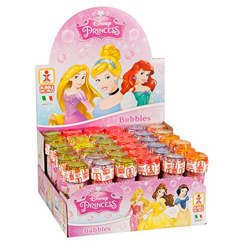 ColorBaby - Caja pomperos Princesas Disney con 36 Unidades de 60 ml (22902