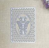 Caja 3 Mariposa Diy Molde de cuchillo de corte Molde de cuchillo de acero al carbono Rompecabezas Plantilla de molde de cuchillo de relieve Troqueladoras para hacer tarjetas 15.1X10.8Cm