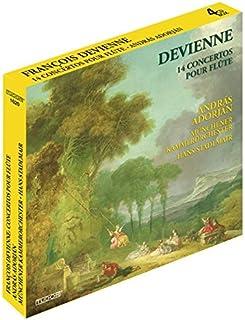 Francois Devienne: 14 Flute Concertos by Andras Adorjan