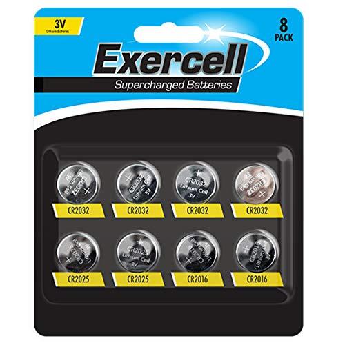Powercell 3 V lithium batterijen Mega 8 stuks