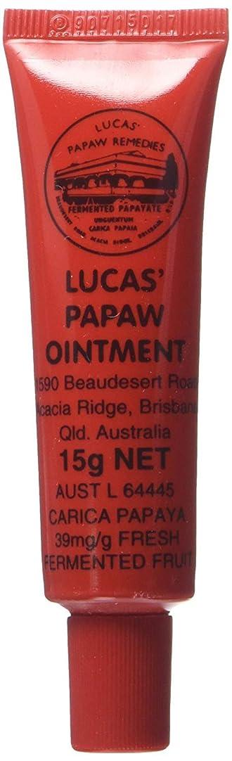 取り替える月政治的LUCAS' PAPAW OINTMENT リップ アプリケータータイプ 15g