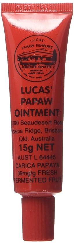 義務づける計り知れない馬鹿LUCAS' PAPAW OINTMENT リップ アプリケータータイプ 15g