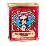 CHIQUILÍN - Lata de pimentón picante de 75 gramos - Productos Gourmet desde 1909