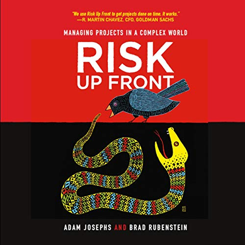 Risk up Front audiobook cover art