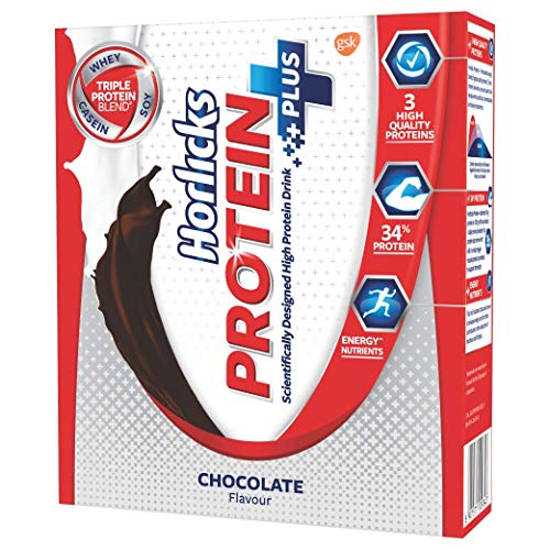 Horlicks Protein+ Health and Nutrition Drink - 200 g Refill Pack (Chocolate)