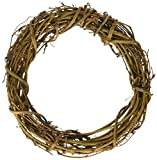 Darice 8 Inch Grapevine Wreath available on Amazon.com #wreath #amazon