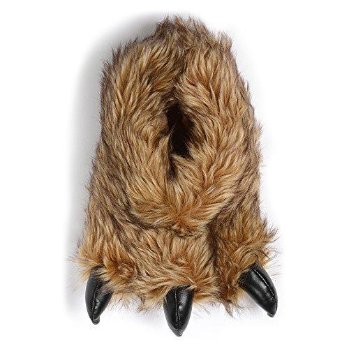 Zapatillas Divertidas para Hombre con diseño de Oso de Monstruo, Color, Talla 42/43 EU